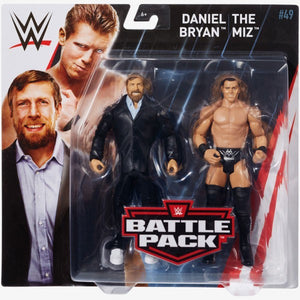 WWE Wrestling Basic Series #49 Daniel Bryan & The Miz Action Figure 2 Pack