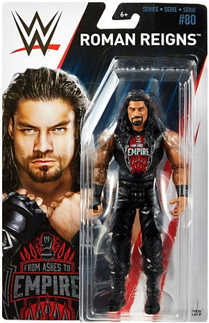 WWE Wrestling Basic Series #80 Roman Reigns Action Figure