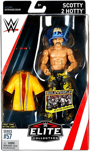 WWE Wrestling Elite Series #57 Scotty 2 Hotty Action Figure