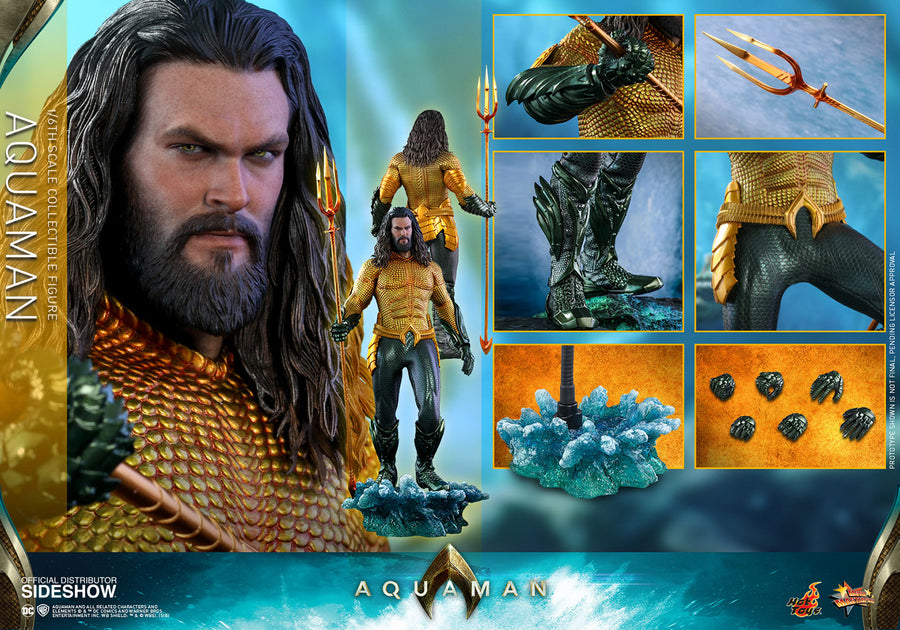 DC Hot Toys Aquaman Movie 1:6 Scale Action Figure HOTMMS518 Pre-Order