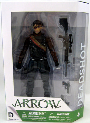DC Arrow TV Series Dark Deadshot Action Figure #6 - Action Figure Warehouse Australia | Comic Collectables