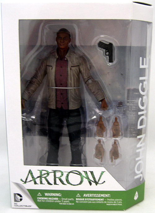 DC Arrow TV Series John Diggle Action Figure #9 - Action Figure Warehouse Australia | Comic Collectables