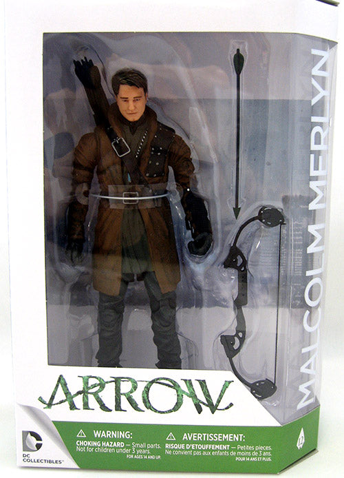 DC Arrow TV Series Malcolm Merlyn Action Figure #12 - Action Figure Warehouse Australia | Comic Collectables