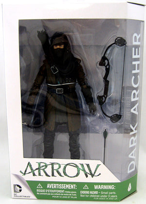 DC Arrow TV Series Dark Archer Action Figure #5 - Action Figure Warehouse Australia | Comic Collectables