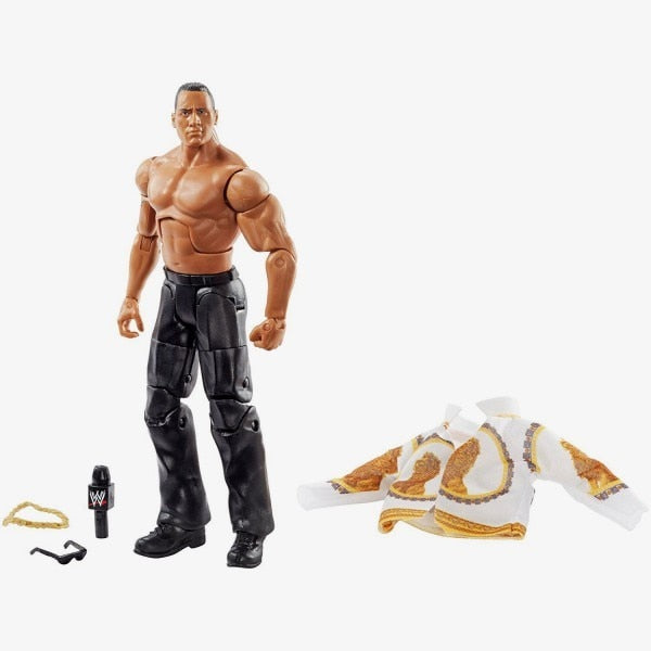 WWE Wrestling Elite Attitude Era Series The Rock Action Figure