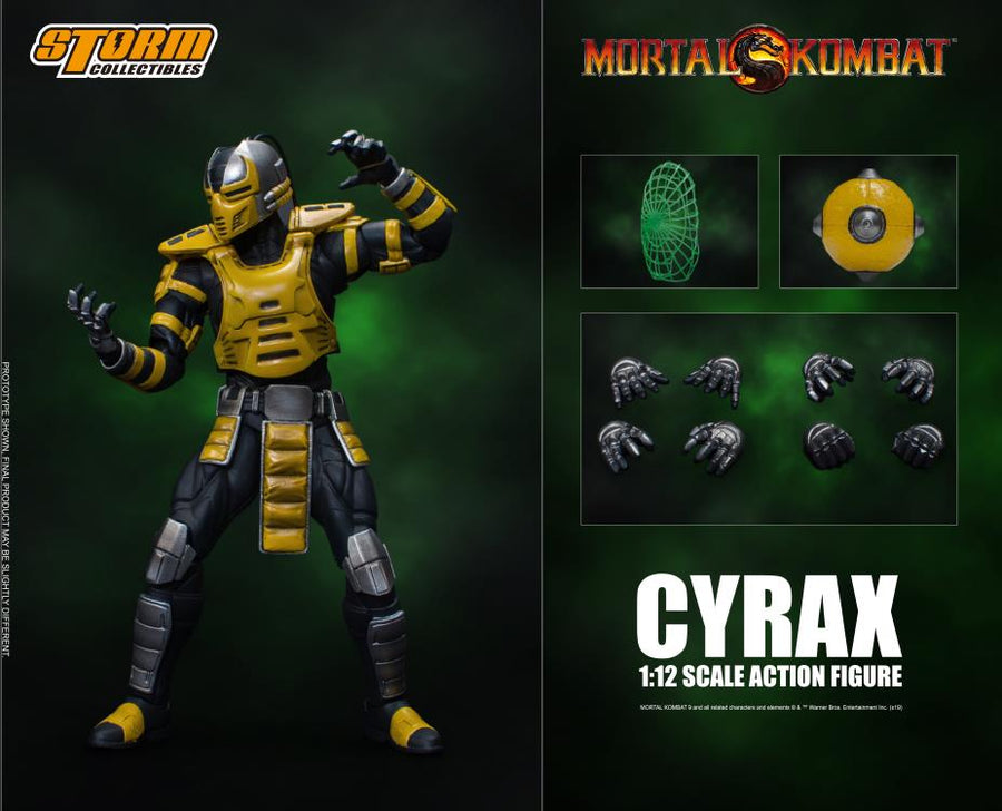 Mortal Kombat Storm Collectibles Special Edition Cyrax 1:12 Scale Action Figure