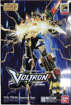 Voltron Bandai SDCC 2018 Exclusive Super Mini-Pla Model Kit Action Figure