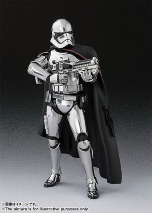Star Wars Bandai SH Figuarts Last Jedi Captain Phasma Action Figure