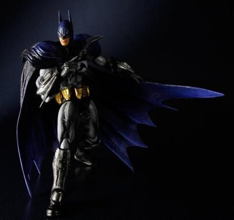 DC Square Enix Play Arts Kai Arkham City Batman Action Figure
