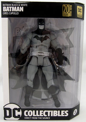DC Batman Black and White Series Greg Capullo Batman Action Figure #3 - Action Figure Warehouse Australia | Comic Collectables