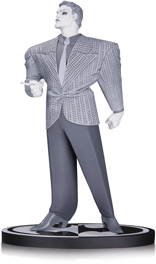 DC Batman Black and White Frank Miller The Joker 7 Inch Statue - Action Figure Warehouse Australia | Comic Collectables