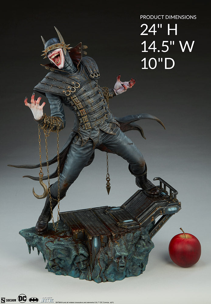 DC Sideshow Collectibles Batman Who Laughs Premium Format 1:4 Scale Statue Pre-Order