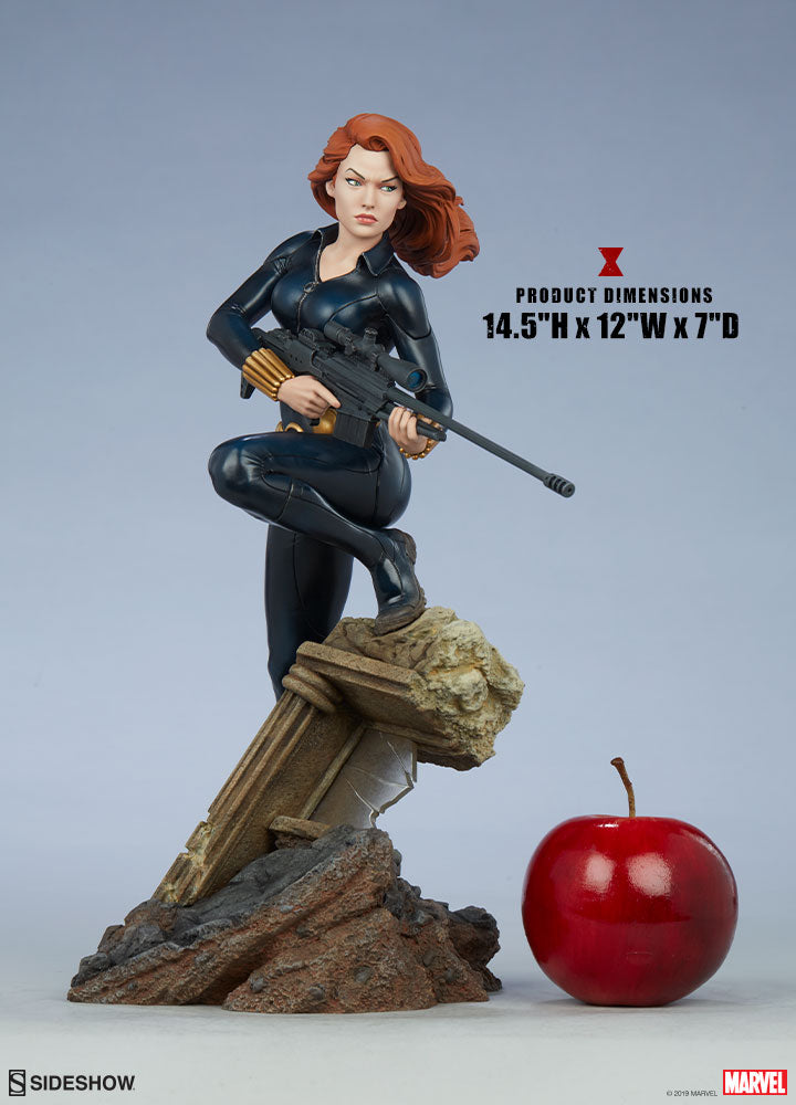 Marvel Sideshow Collectibles Avengers Assemble Black Widow Statue Pre-Order