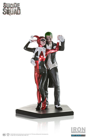DC Iron Studios Suicide Squad Harley Quinn & Joker 1:10 Scale Statue - Action Figure Warehouse Australia | Comic Collectables