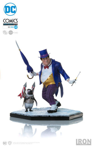 DC Iron Studios Batman The Penguin 1:10 Scale Statue - Action Figure Warehouse Australia | Comic Collectables