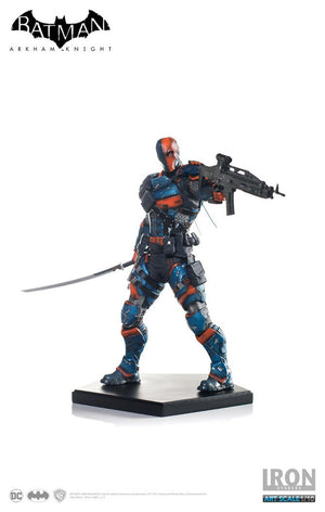 DC Iron Studios Arkham Knight Deathstroke 1:10 Scale Statue - Action Figure Warehouse Australia | Comic Collectables