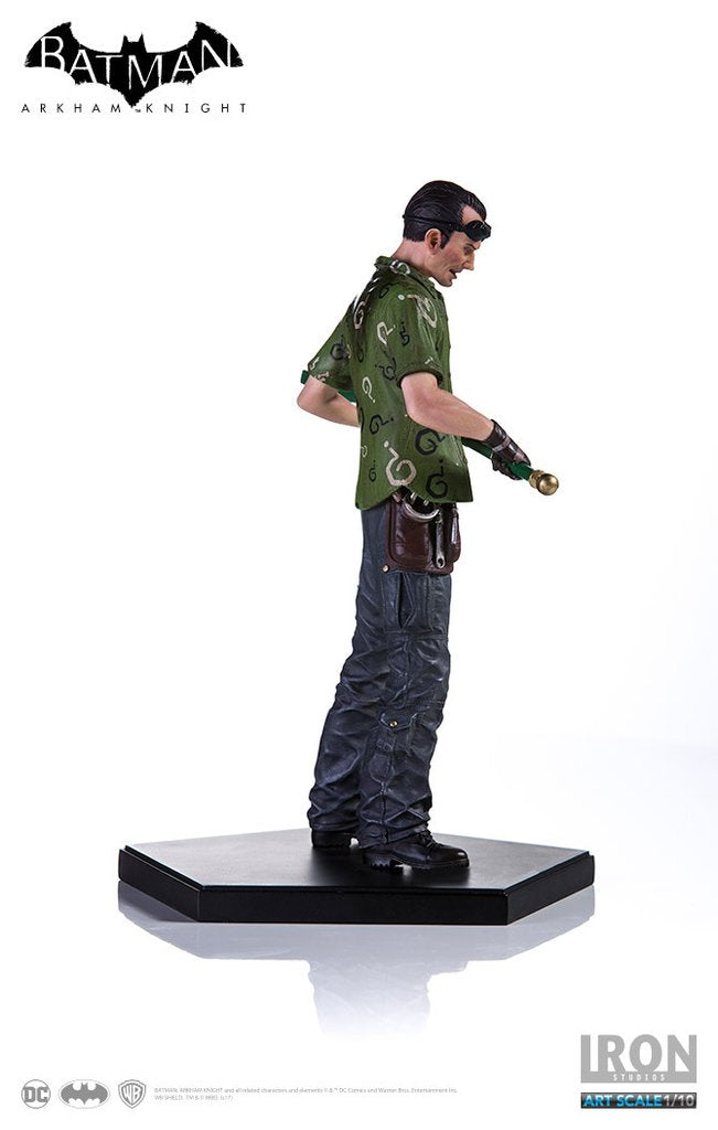DC Iron Studios Arkham Knight The Riddler 1:10 Scale Statue - Action Figure Warehouse Australia | Comic Collectables
