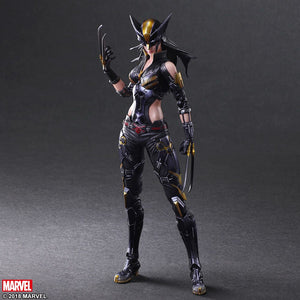 Marvel Square Enix Play Arts Kai X-Men X-23 Action Figure