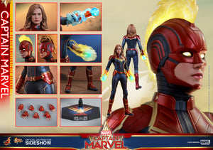 Marvel Hot Toys Captain Marvel 1:6 Scale Action Figure HOTMMS521 Pre-Order