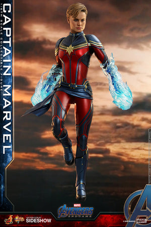 Marvel Hot Toys Avengers Endgame Captain Marvel 1:6 Scale Action Figure MMS575 Pre-Order