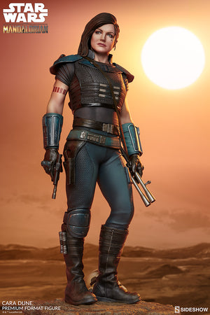 Star Wars Sideshow Collectibles Mandalorian Cara Dune Premium Format 1:4 Scale Statue Pre-Order