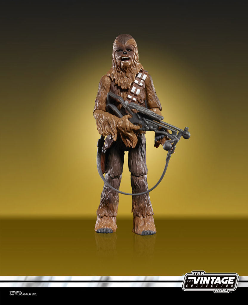Star Wars The Vintage Collection Chewbacca Action Figure Coming Soon