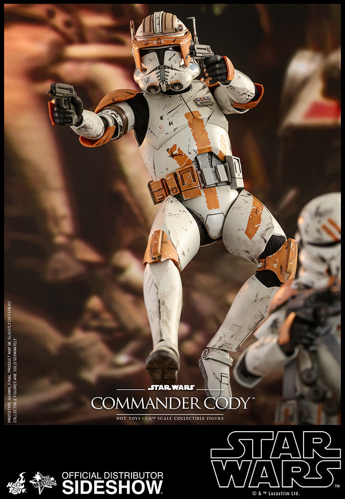 Star Wars Hot Toys Revenge Of The Sith Commander Cody 1 6 Scale Action The Little Toy Company