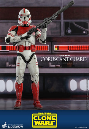 Star Wars Hot Toys The Clone Wars Coruscant Guard 1:6 Scale Action Figure TMS025 Pre-Order