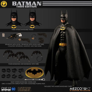 DC Mezco 1989 Batman Exclusive One:12 Scale Action Figure Pre-Order