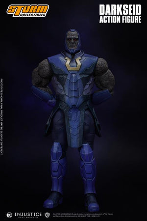 DC Storm Collectibles Injustice Gods Among Us Darkseid 1:12 Scale Action Figure Pre-Order