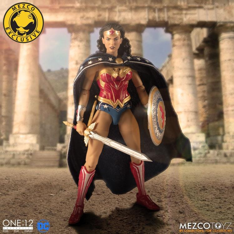 DC Mezco Exclusive Classic Wonder Woman One:12 Scale Action Figure Pre-Order