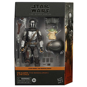 Star Wars Black Series Deluxe Din Djarin Mandalorian Action Figure