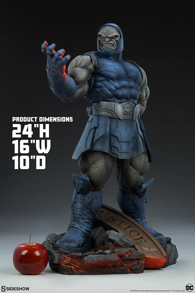 DC Sideshow Collectibles Superman Darkseid Maquette Statue Pre-Order