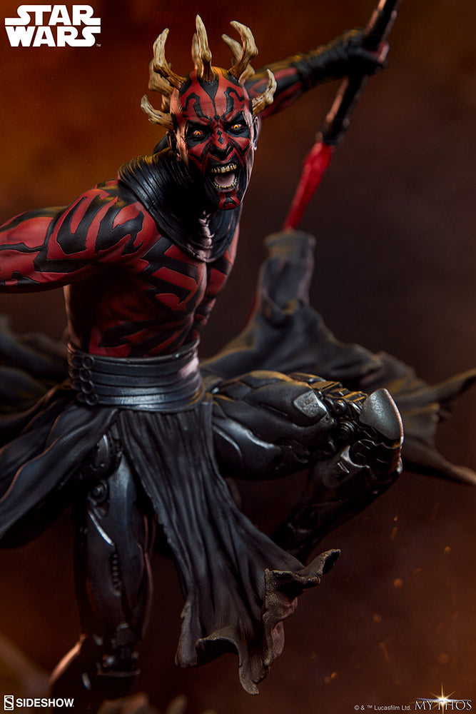 Star Wars Sideshow Collectibles Darth Maul Mythos Statue Pre-Order