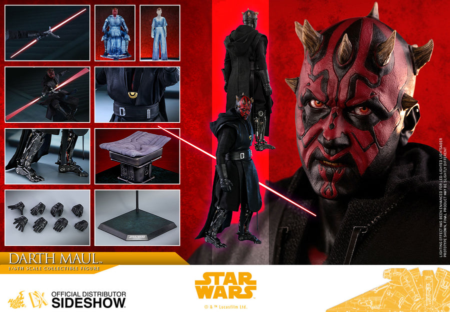 Star Wars Hot Toys Solo Story Darth Maul 1:6 Scale Action Figure HOTDX18 Pre-Order