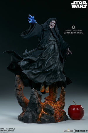 Star Wars Sideshow Collectibles Darth Sidious Mythos Statue Pre-Order