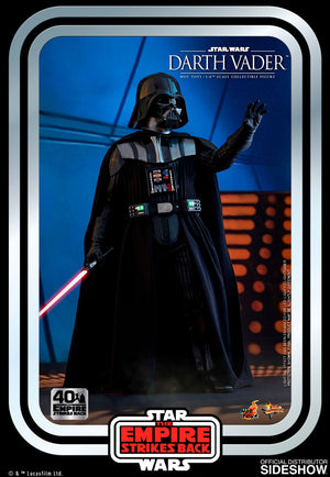 Star Wars Hot Toys Empie Strikes Back 40th Anniversary Darth Vader 1:6 Scale Action Figure MMS572 Pre-Order
