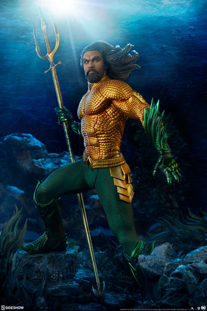 DC Sideshow Collectibles Movie Aquaman Premium Format 1:4 Scale Statue Pre-Order