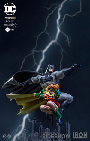 DC Iron Studios Dark Knight Batman & Robin 1:10 Scale Statue Pre-Order - Action Figure Warehouse Australia | Comic Collectables