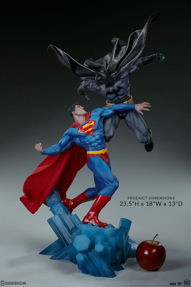 DC Sideshow Collectibles Batman v Superman Diorama Statue Pre-Order - Action Figure Warehouse Australia | Comic Collectables