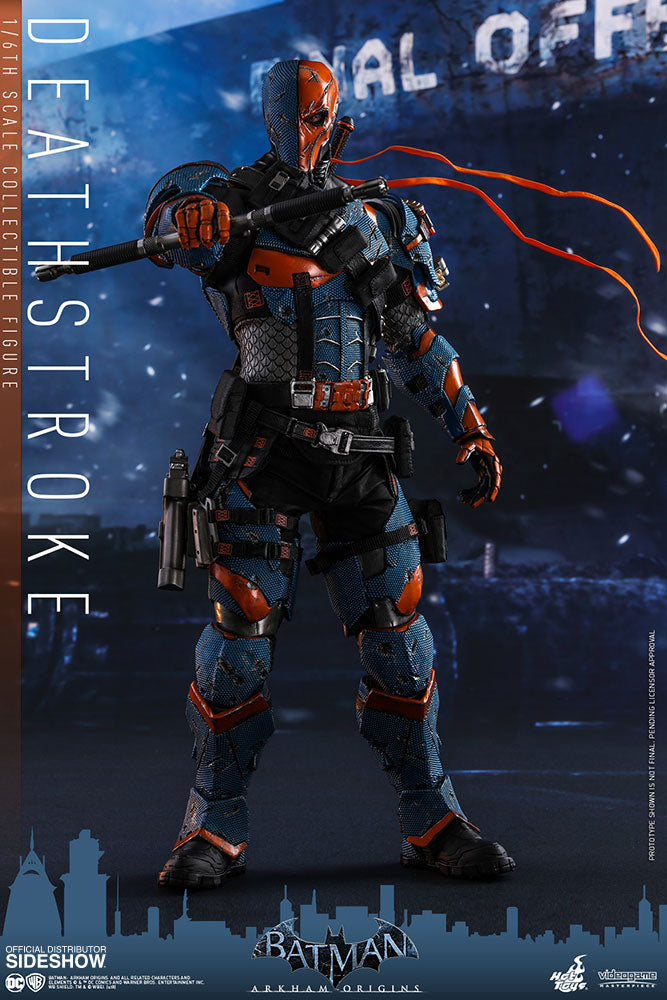 DC Hot Toys Arkham Origins Deathstroke 1:6 Action Figure HOTVGM30 Pre-Order - Action Figure Warehouse Australia | Comic Collectables