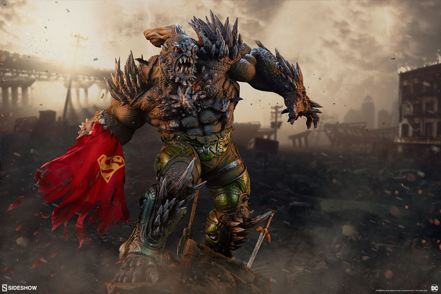 DC Sideshow Collectibles Superman Doomsday Maquette Statue Pre-Order - Action Figure Warehouse Australia | Comic Collectables