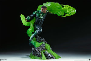 DC Sideshow Collectibles Green Lantern John Stewart Premium Format 1:4 Scale Statue Pre-Order - Action Figure Warehouse Australia | Comic Collectables
