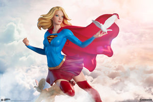 DC Sideshow Collectibles Supergirl Premium Format 1:4 Scale Statue Pre-order - Action Figure Warehouse Australia | Comic Collectables