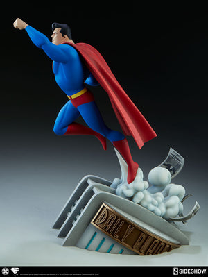 DC Sideshow Collectibles Superman The Animated Series 16 Inch Statue