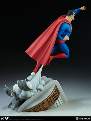 DC Sideshow Collectibles Superman The Animated Series 16 Inch Statue Pre-Order