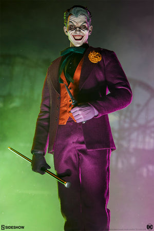 DC Sideshow Collectibles Batman The Joker 1:6 Scale Action Figure Pre-Order