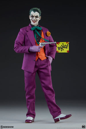 DC Sideshow Collectibles Batman The Joker 1:6 Scale Action Figure