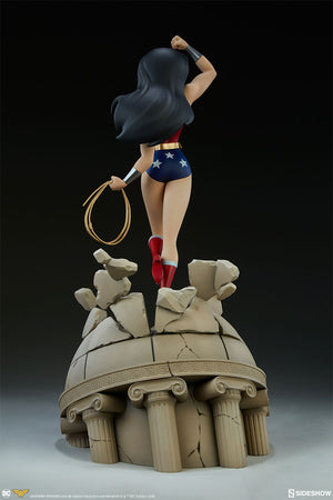 DC Sideshow Collectibles Wonder Woman The Animated Series 16 Inch Statue Pre-Order