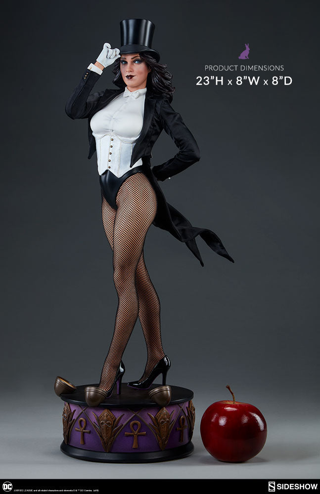 DC Sideshow Collectibles Zatanna Premium Format 1:4 Scale Statue - Action Figure Warehouse Australia | Comic Collectables
